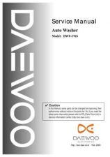 Buy Daewoo WF176S0001 Manual by download Mauritron #226959
