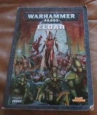 Buy Warhammer 40,000 40K ELDAR CODEX by Phil Kelly Good Condition book