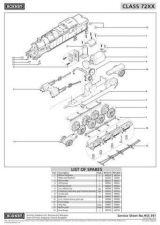 Buy Hornby No.391 Class 72XX Service Sheets by download Mauritron #207168