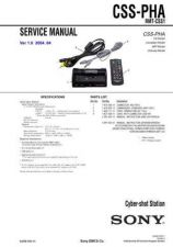 Buy Sony CSS-PHA Manual-1663 by download Mauritron #228440