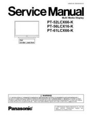 Buy Panasonic PVD209K Service Manual by download Mauritron #268434