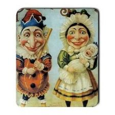 Buy Punch and Judy Puppet Art Computer Mouse Pad