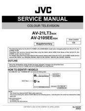 Buy JVC AV-21D43-BBT Service Manual Schematic Circuit. by download Mauritron #269540
