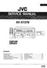 Buy JVC jvc-rx-r73tn--- Service Manual by download Mauritron #273512