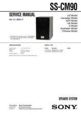 Buy Sony SS-CHPZ7CHPZ9 Service Manual. by download Mauritron #244660