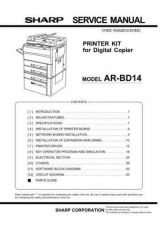 Buy Sharp ARBD15 Service Manual by download Mauritron #208156