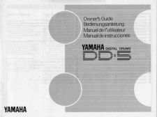 Buy Yamaha DD5E Operating Guide by download Mauritron #247375