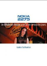 Buy NOKIA 2275 IN FRENCH MOBILE PHONE OPERATING GUIDE by download Mauritron #230213