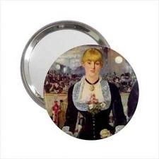 Buy A Bar at the Folies-Bergère Édouard Manet Round Handbag Purse Mirror