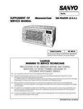 Buy Hitachi EM-V5404SSW(SM) Service Manual by download Mauritron #262180