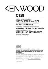 Buy Kenwood CD-404 Operating Guide by download Mauritron #220966