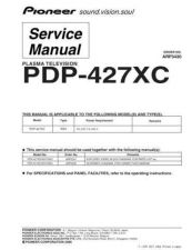 Buy Pioneer PDP-427XA-WYVIXK5 (2) Service Manual by download Mauritron #234776
