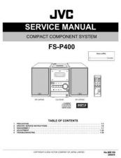 Buy JVC FS-P400 Service Manual Schematic Circuit. by download Mauritron #270410