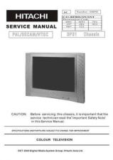 Buy Hitachi 3P31 CHASSIS Service Manual CDC-2080 by download Mauritron #262651