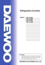 Buy Daewoo. SM_ERF-394AI_(E)(1). Manual by download Mauritron #213578