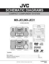 Buy JVC MX-JE3sch Service Manual Schematic Circuit. by download Mauritron #271993