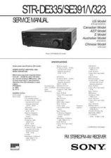 Buy SONY STR-DE825 Technical Info by download #105266