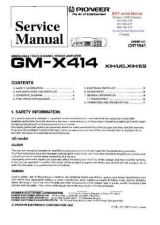 Buy PIONEER GMX414 CRT1941 Technical Information by download #119258