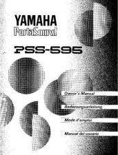 Buy Yamaha PSS595F1 Operating Guide by download Mauritron #249473