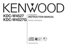 Buy Kenwood KDC-W4531 Operating Guide by download Mauritron #219083