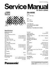 Buy Panasonic saht810v-sm Service Manual by download Mauritron #268705