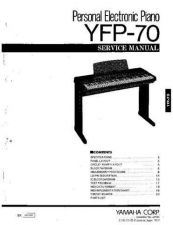 Buy Yamaha YFP-70 Information Manual by download Mauritron #260093