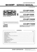 Buy Sharp CD-BK2100V Service Manual by download Mauritron #231067