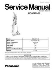 Buy Panasonic MAC0803002CE Service Manual by download Mauritron #267611