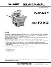 Buy SHARP FO6600U by download #104502