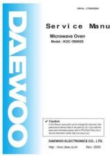 Buy Daewoo. BSH SVC Manual. Manual by download Mauritron #212578