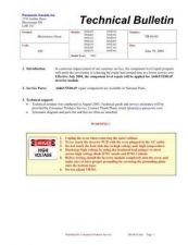 Buy Panasonic tb-04-03 Service Manual by download Mauritron #268963