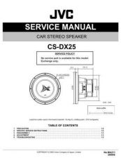 Buy JVC CS-FX6902 Service Manual Schematic Circuit. by download Mauritron #270186