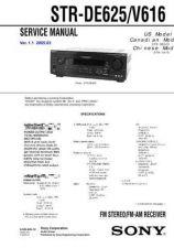 Buy Sony STR-DE875DE975 by download Mauritron #245121