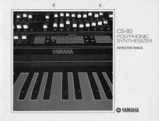 Buy Yamaha CS80E 1 Operating Guide by download Mauritron #247236