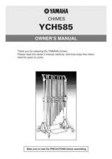 Buy Yamaha YCH585 WK54160 Operating Guide by download Mauritron #205588