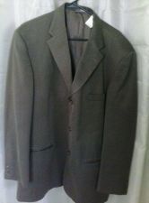 Buy Men's Haggar Black Label Blazer Suit Coat Size 46 Long