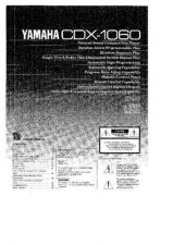 Buy Yamaha CDX-1060 Operating Guide by download Mauritron #247008