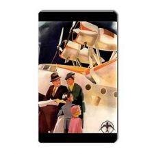 Buy Retro Family Air Travel Tourism Art Vinyl Magnet