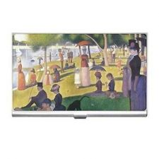 Buy Sunday Afternoon Seurat Art Pointillism Business Credit Card Holder