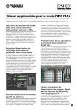 Buy Yamaha PM5DV105F Operating Guide by download Mauritron #249223