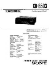Buy Sony XR-6087 Service Manual. by download Mauritron #246130