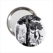 Buy Eve Garden Of Eden Snake Art Round Handbag Purse Mirror