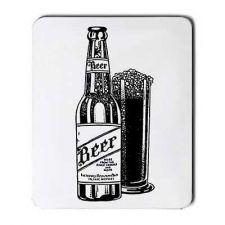 Buy Beer Bottle Art Computer Mouse Pad