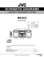 Buy JVC MX-KC4SCH SERVICE MANUAL by download Mauritron #220571