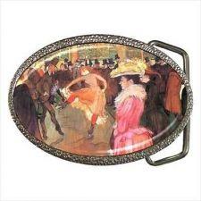 Buy At The Moulin Rouge Unisex Fine Art Belt Buckle