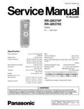 Buy Panasonic rx_ds750_p_pc Service Manual by download Mauritron #268542