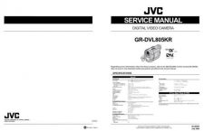 Buy JVC GR-DVL400ED600ED707ED Service Manual by download Mauritron #273236
