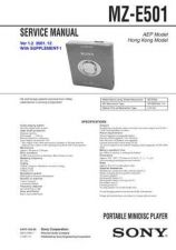 Buy Sony MZ-E44-E45 Service Manual. by download Mauritron #243091