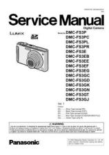 Buy Panasonic DMC-FX07GT Service Manual with Schematics by download Mauritron #266619