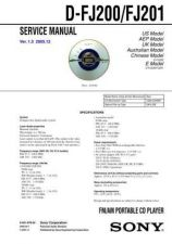 Buy Sony DCR-DVD201DVD201E[3] Service Manual by download Mauritron #239525